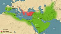 The Arab conquests 634-751
