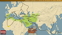 The Islamic Empire at the heart of commerce in the medieval world