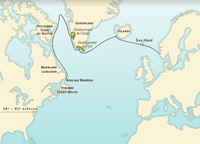 North Atlantic sailings prior to Christopher Columbus