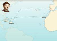 Christopher Columbus' first voyage 1492-1493