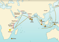 Trade in the Indian Ocean in the 15th century