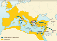 The first Christian communities (1st century)