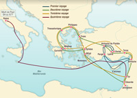 The Apostle Paul's Missionary Journeys