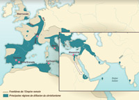 The spread of Christianity: 2nd-4th centuries