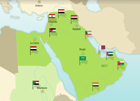 Middle East Map Before Ww2.Learn About The History Of The Middle East Learning Resource