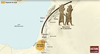 The kingdoms of Israel and Judah face to face with the Neo-Assyrian Empire