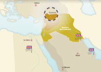 French and British Mandates in the Middle-East