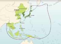 Asia: Japanese Power in 1942