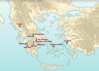 Hellenistic Greece Map.Discover The History Of Ancient Greece And The Hellenistic World