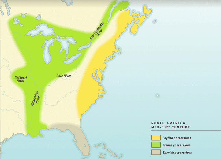 A Territorial History Of The United States - Map-of-us-in-1804
